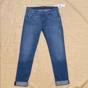 NWT HUDSON BACARA ROLLED CROP Jeans